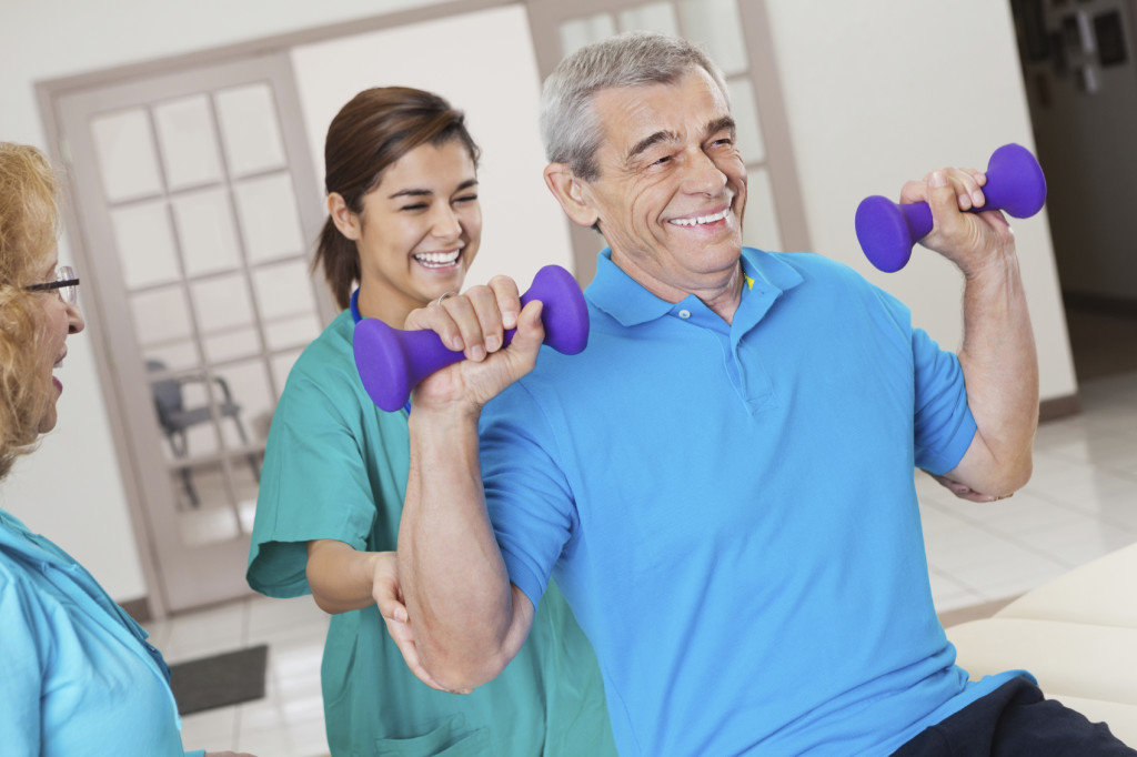 Rehabilitation & Therapy at Park Manor of McKinney nursing home in McKinney, TX.